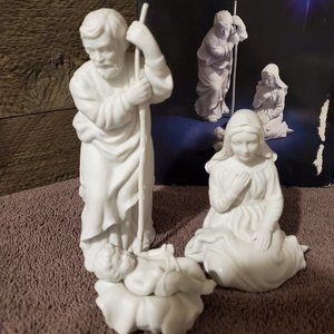 Vintage Avon Nativity Collectible Holy Family